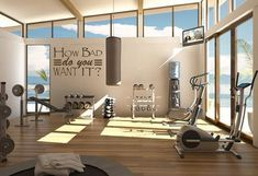 Custom Wall Decal – How Bad Do You Want It? – Gym Decal – Office Decal – Dorm Decal – Home Decor – Gift Idea – Living Room – Bedroom – Home gym Home Gym Basement, Home Gym Garage, Diy Home Gym, Gym Room At Home, Home Gym Decor, Basement Workout Room, Workout Room Decor, Workout Room Home, San Myshuno