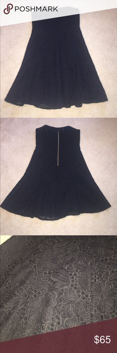 Lilly Pulitzer LBD Amazing LBD! Worn 1 time. Approximately 30 inches from top to bottom. From pet and smoke free home. Only damage is top loop to hang up Dress ripped (cannot be seen when on) Lilly Pulitzer Dresses