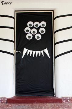Halloween Door Decorations For Provide Home