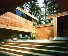 Smith House. 1965. West Vancouver, British Columbia, Canada. Arthur Erickson.