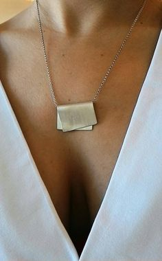 Moderne zilveren ketting Sterling zilveren hanger ketting