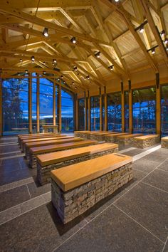 Gallery of Semper Fidelis Memorial Chapel / Fentress Architects - 6