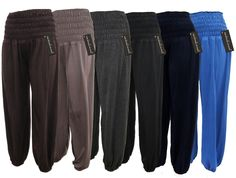 2 Comfy Harem Pants Bohemian Aladdin Genie Boho Hippy Baggy Leisure pants S-XL in Clothing, Shoes & Accessories, Women's Clothing, Pants Fitness Pants, Yoga Pants, Harem Pants, Fall Outfits, Cute Outfits, Yoga Outfits, Casual Outfits, Workout Pants, Outfits