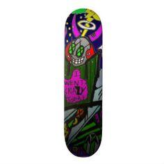 Shop I went crazy Board created by PsykoVirusIndustries. Custom Skateboards, Cool Skateboards, Skateboard Design, Skateboard Art, I Go Crazy, Going Crazy, Hard Rock, Outdoor Gear, Gears