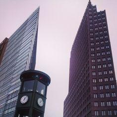 #Potsdamplatz #Berlin #urbanism #architecture #arquitectura #tezturas