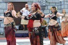 Apryl Grace, Jack Stamates, Alina Tribal Arts Bellydance, Robin Patrella and Aliki MagicalMoon.