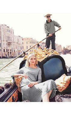 Bow-Detail Silk & Cotton Sweater