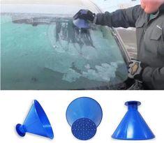 Ice Scraper Magic Scraper Windshield Ice Scraper Snow Scraper Snow Removal Tools red 2019 Upgrade