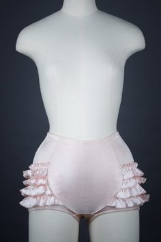 883e10756a  Platinum  Ruffle Brief By Rigby   Peller – The Underpinnings Museum