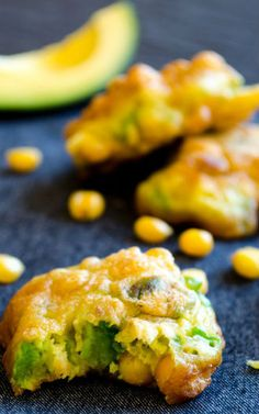 Corn and Avocado Fritters - FeedGoodFood.com