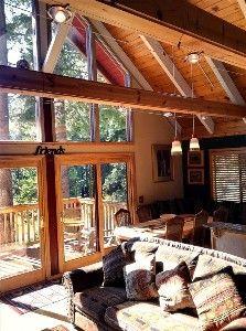 Tahoe City Vacation Rental - VRBO 21275 - 6 BR Lake Tahoe North Shore CA House in CA, Walk to Ski Lift ! 6BR/3BA,Hot Tub,Sauna,Pool Tbl,Views,Slps15
