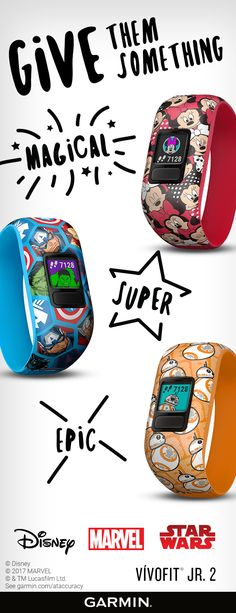 Make this holiday season amazing with vívofit jr. 2 activity trackers.