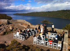 Emerald Bay Is One Of The Most Photographed Places In Country Perfect Background For A Wedding Ceremony Don T You Think Invite Pristine Lake