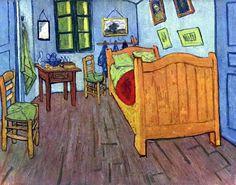 Van Gogh, La camera di Vincent ad Arles, 1888