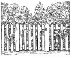 Crafty Individuals - Beyond the Picket Fence - Chocolate Baroque