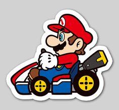 Nintendo Badge Arcade - Mario