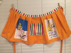Dr. Seuss apron with center pocket / Sam I am / green eggs and ham / celebrate Seuss / teacher apron Dr. Seuss