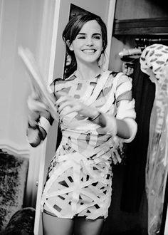 EMMA WATSON for The Sunday Times Style by Ellen Von Unwerth (March 2014)