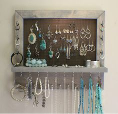 Becky and Brittany: Jewelry Storage