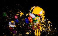 High-Speed Photography of Light Bulbs Exploding by Jon Smith