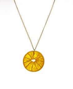 Fruit Resin Necklace