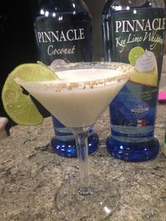 Key Lime Coconut Cream Pie Martini