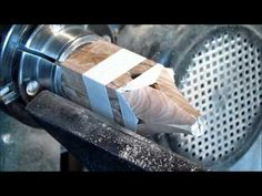 Woodturning A Quick Inside Out Ornament Really Quickly - YouTube