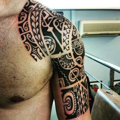 Freehand...#dermagrafics #tattoo#tattoos#tatau#tatuami #tatuagi #tattoomaori… …