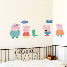 Shop Peppa Pig Wall Stickers. Most Popular among Kids.