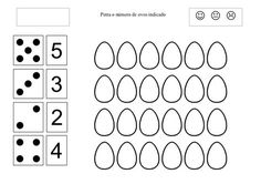 fichas de trabalho sobre a pascoa - pre escolar - Pesquisa Google Math For Kids, Fun Math, Kindergarten Math Worksheets, Home Activities, Easter Party, Easter Crafts, Kids And Parenting, Coloring Pages, Preschool