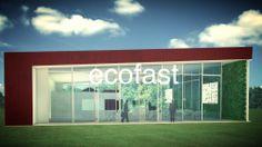 Ecofast C | Stand de Vendas  O projeto de stand de vendas mais sustentável que existe!  Design: alexandre fantozzi