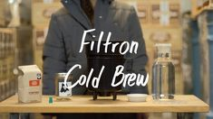 How to Make Cold Brew Coffee in a Filtron Cold Brewer