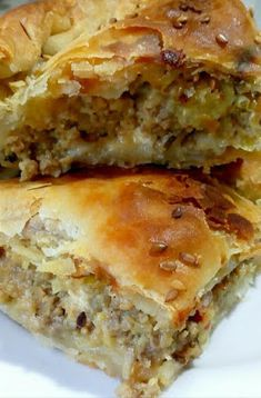 Greek Cooking, Cooking Time, Cookbook Recipes, Cooking Recipes, The Kitchen Food Network, Mumbai Street Food, Greek Dishes, Easy Pie, Food Tasting