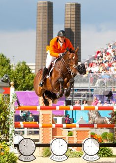 Houtzager and Tamino were foot perfect over both rounds in the Team Final.