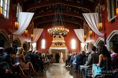 wedding ceremony at glenmoor country club