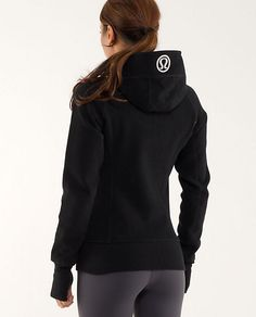 Scuba Hoodie | Lululemon Athletica - Of course we love our Lululemon scubas for pre and apres class!