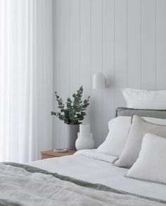 Z S Tip Want to take your bedroom up a notch? Interior Inspiration, Furniture, Home Decor, Caves, Bedrooms, Interiors, Stone, Grey, Link