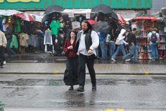 Lluvia en Camden Town, Londres, 2009  by PVillegas
