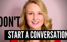 How to NOT start a conversation in English. Watch this video lesson to learn 6 topics you should avoid talking about when meeting someone new. Speak English Fluently, English Verbs, Learn English Grammar, English Language Learning, English Phrases, Learn English Words, English Study, English Lessons, English Vocabulary