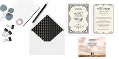 Stilvolle Vintage Papeterie von Bonjour Paper | Hochzeitsblog The Little Wedding Corner