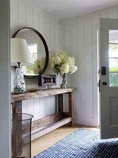 Stunning farmhouse living room design ideas (50)