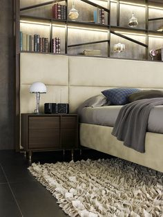 Modern bedroom design idea - discover our selection  of made in Italy furniture!