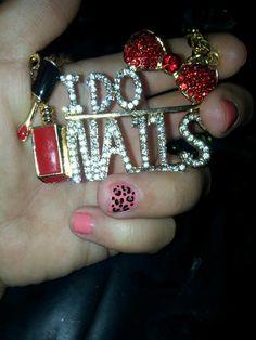 I do nails <3 cheetah nail art design