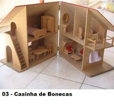 Nuevo Olli ella holdie Barn-de madera para niños muñecas casa de juego.