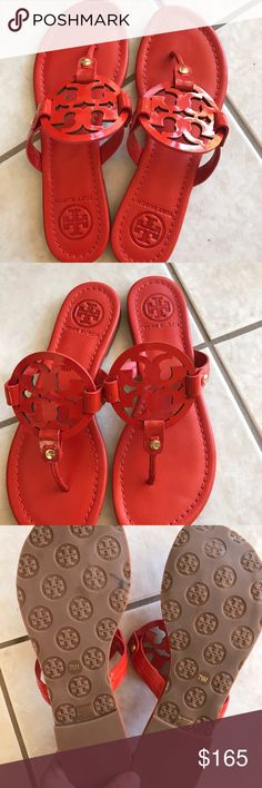 Tory Burch Miller Sandals NWOT or box Tory Burch Miller sandals. Size 7.5. Have never been worn. Tory Burch Shoes Sandals