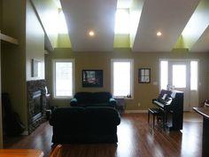 Plan #22988: 3 bedroom, 2 bath house plan with 2-car garage. Farmhouse style, 1 story | HousePlansPlus.com