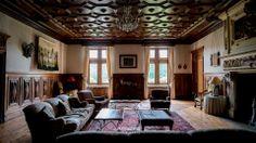 Chateau de Lisse interior