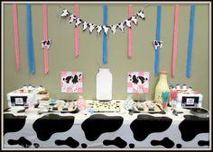 Moo Cow Baby Shower ~ Got Milk?