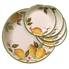 192 Best Lemon Dinnerware Images Dish Sets Lemon Vase