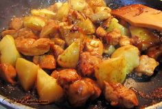 Chicken with Quince & Ginger